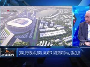 Pembangunan Jakarta International Stadium Butuh Rp 5 Triliun