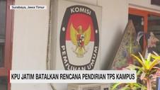 KPU Jatim Batalkan Rencana Pendirian TPS di Kampus