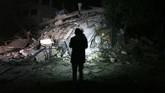 Namun, Israel justru menggencarkan gempurannya ke Jalur Gaza. (AFP Photo/Mohammed Abed)