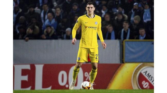 Andreas Christensen melalui Times mengatakan pemain Chelsea tidak akan diperkenankan hengkang jika klub asal London itu dikenakan larangan sanksi melakukan transfer. (Ludvig Thunman / BILDBYRÅN / kod LT/File Photo)