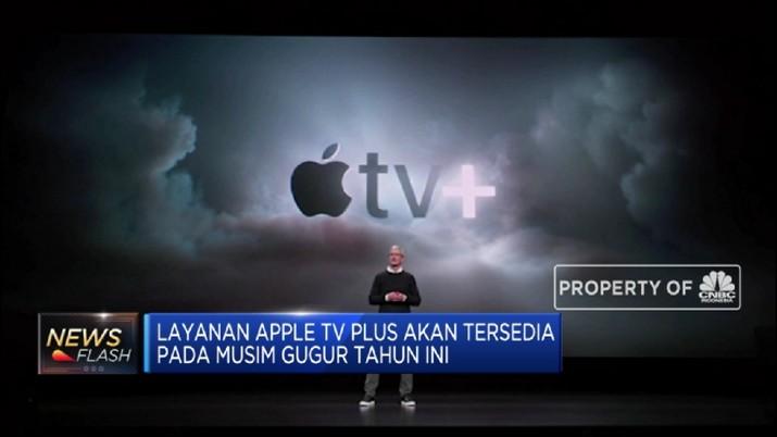 Apple luncurkan layanan berlangganan untuk menghadapi penurunan penjualan iPhone.
