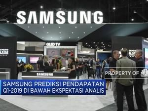 Samsung Prediksi Pendapatan Q1-2019 di Bawah Ekspektasi