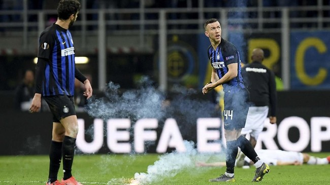 Tottenham Hotspur berupaya mendatangkan pemain sayap Kroasia, Ivan Perisic, dari Inter Milan. Menurut TuttoMercato, Inter siap menerima tawaran senilai £30 juta. (REUTERS/Daniele Mascolo)
