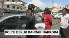 Polisi Bekuk Bandar Narkoba