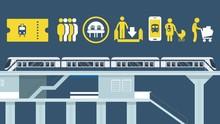 INFOGRAFIS: Cara Sopan Naik MRT