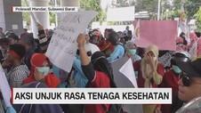 Aksi Unjuk Rasa Tenaga Kesehatan