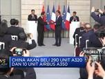 Airbus-China Sepakati Penjualan Ratusan Pesawat