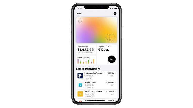 Apple Luncurkan Kartu Kredit