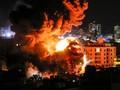 FOTO: Tempur Semalam Suntuk Sebelum Gencatan Senjata di Gaza