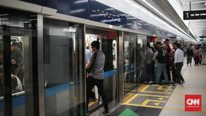 Diubah, Tarif MRT Ditetapkan Maksimal Rp14 Ribu