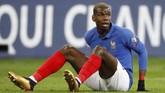 Paul Pogba dikabarkan AS berniat hengkang dari Manchester United untuk bermain di Spanyol atau Italia. (REUTERS/Charles Platiau)