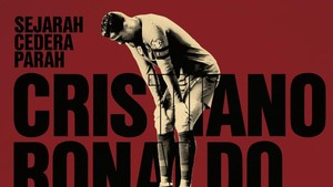 INFOGRAFIS: Sejarah Cedera Parah Cristiano Ronaldo