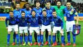 Pelatih Roberto Mancini melakukan sejumlah perubahan saat timnas Italia vs Liechtenstein, termasuka memainkan Salvatore Sirigu sebagai kiper utama. (REUTERS/Jennifer Lorenzini)