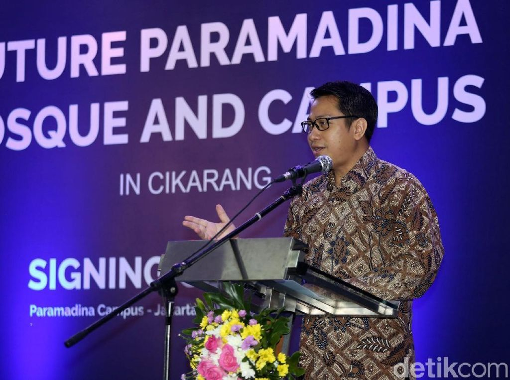 Kerja sama itu diharapkan mampu menjadi pusat pemberdayaan umat dan ilmu pengetahuan berasaskan nilai-nilai Ke-Islaman, Ke-Modernan, dan Ke-Indonesiaan.