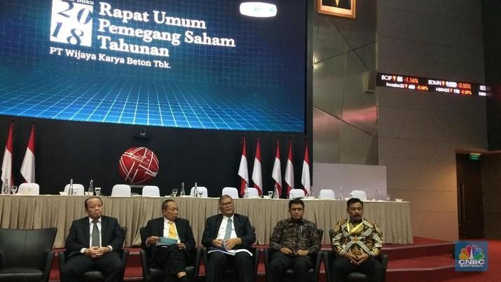 PT Wijaya Karya Beton Tbk. (WTON) menilai tingkat utang perusahaan masih dalam level aman.