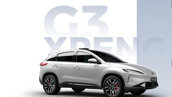 G3 Xpeng. (Dok. xiaopeng.com)