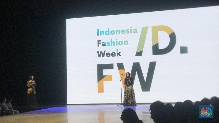 Karpet Merah Indonesia Fashion Week 2019 Resmi Digelar