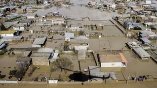 Banjir di Iran Telan Kerugian Rp35 Triliun