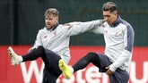 Bek kiri Liverpool, Alberto Moreno, diberitakan Liverpool Echo bakal membuat kejutan dengan bergabung ke Barcelona pada awal musim depan. (Action Images via Reuters/Carl Recine)