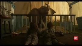 VIDEO: 'Batman' dan 'Penguin' Reuni Berkat Gajah 'Dumbo'