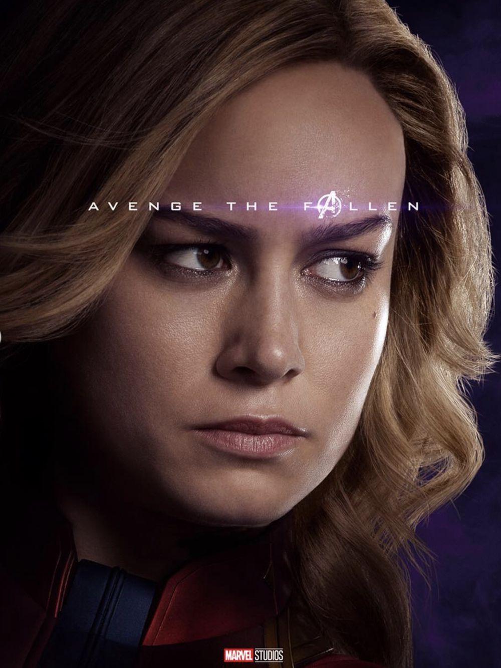 Poster Captain Marvel. Marvel Studios merilis poster karakter-karakter Avengers: Endgame. Poster itu menampilkan para pahlawan baik yang bertahan maupun yang gugur dalam film sebelumnya, Avengers: Infinity War. (dok. Disney)