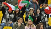 Suasana di Stadion Ennio Tardini, Parma, Selasa (26/3) malam waktu setempat, jelang laga Grup J Kualifikasi Piala Eropa 2020 antara timnas Italia vs Liechtenstein.(REUTERS/Jennifer Lorenzini)