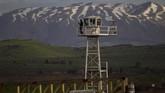 Dataran Tinggi Golan merupakan wilayah sengketa. Kawasan itu diduduki oleh Israel pada Perang Enam Hari 1967 dan dicaplok dari Suriah pada 1981. (AP Photo/Ariel Schalit, File)