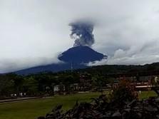 Gunung Agung Kembali Erupsi, PVMBG: Masih Level Aman
