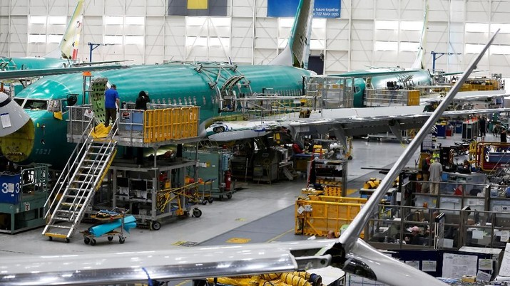 Mengintip Sibuknya Boeing Ubah Sistem Keamanan 737 Max