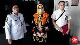 KPK Eksekusi Eni Saragih ke Lapas Wanita Tangerang