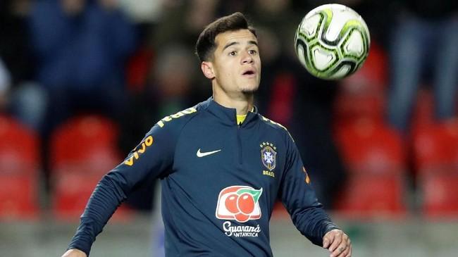 Philippe Coutinho dikabarkan Mundo Deportivo akan dikorbankan Barcelona demi mendapatkan Marcus Rashford dari Manchester United. (REUTERS/David W Cerny)