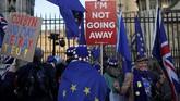Proses pemungutan suara tidak berhasil meraih mayoritas setelah Dewan Perwakilan menolak seluruh opsi Brexit yang dibahas. (REUTERS/Alkis Konstantinidis)