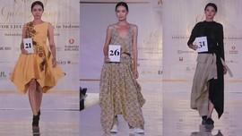 Menaikkan 'Derajat' Linen dan Seprai Bekas Jadi Karya Mode