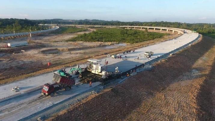 Wuih, Ini Penampakan Terkini Tol Pertama di Kalimantan