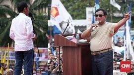 FOTO: Jokowi Sapa Mamuju, Prabowo di Bandung