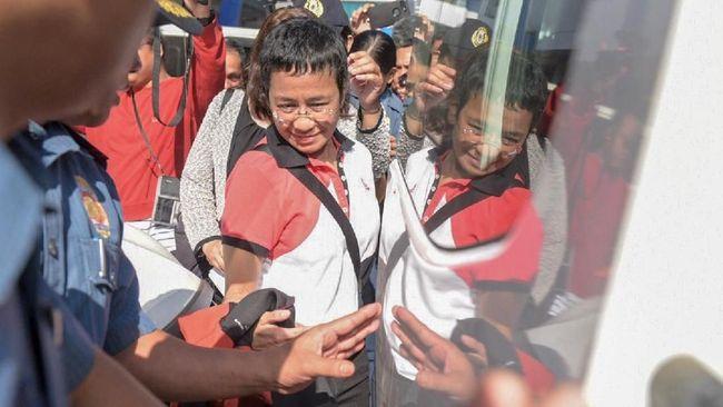 Bayar Jaminan Rp24,3 Juta, Bos Media Pengkritik Duterte Bebas