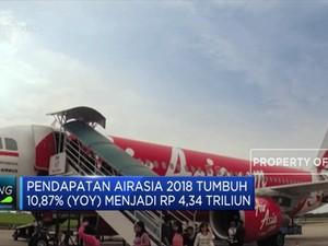 AirAsia Rugi Hampir Rp 1 Triliun di 2018