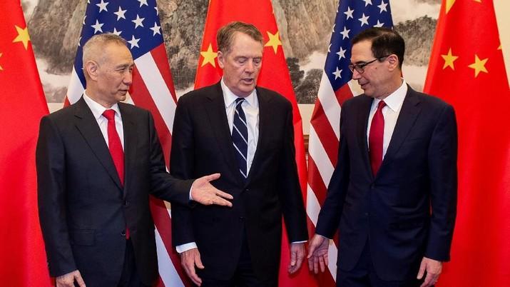Hore! Damai Dagang AS-China Tinggal Selemparan Tombak