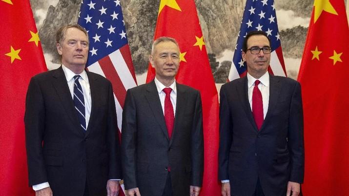 Perundingan Dagang AS-China Lanjut Lagi Akhir April