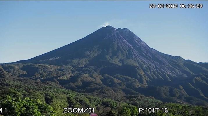 Gunung Merapi (29/3) (dok. BPPTKG)