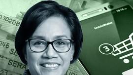 Sri Mulyani Batalkan Aturan Pajak e-Commerce
