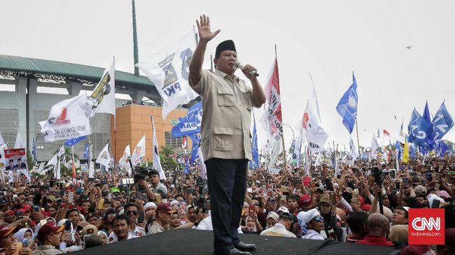 Teriakan 'Prabowo Presiden' Bergemuruh di 'Kandang Banteng'