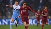 Gelandang Roma Nicolo Zaniolotengah diminati Arsenal, Tottenham Hotspur, dan Juventus seperti diklaim Calciomercato. (REUTERS/Alberto Lingria)