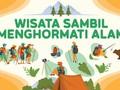 INFOGRAFIS: Wisata sambil Menghormati Alam