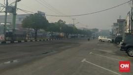Kebakaran Hutan, Kabut Asap Selimuti Kota Dumai