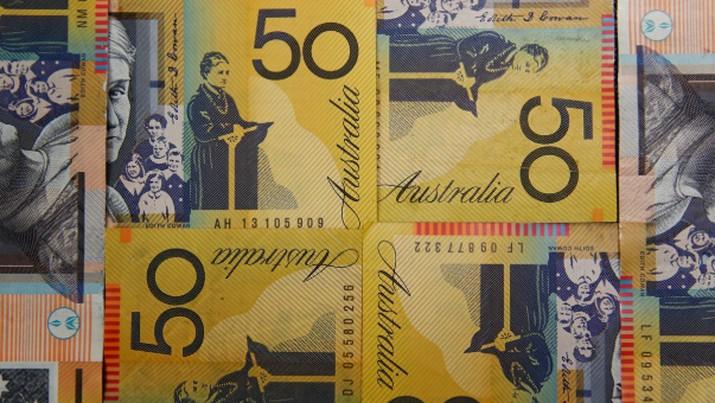 Rupiah Naik Turun vs Dolar Australia & Singapura di Pekan Ini