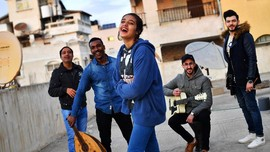 FOTO: Sisi Lain Gaza yang Lebih 'Ramah'