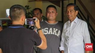 Jokowi 'Tanggap' Kirun dan Ki Manteb Usai Pilpres di Istana