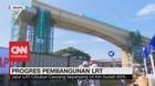 VIDEO: Proyek LRT Jabodebek Terkendala Pembebasan Lahan