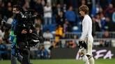 Inter Milan diklaim Football Espana ingin membentuk timnas Kroasia mini musim depan dengan memboyong Luka Modric dan Ivan Rakitic. Sebelumnya, Inter sudah memiliki Ivan Perisic, Marcelo Brozovic, dan Sime Vrsaljko. (REUTERS/Susana Vera)